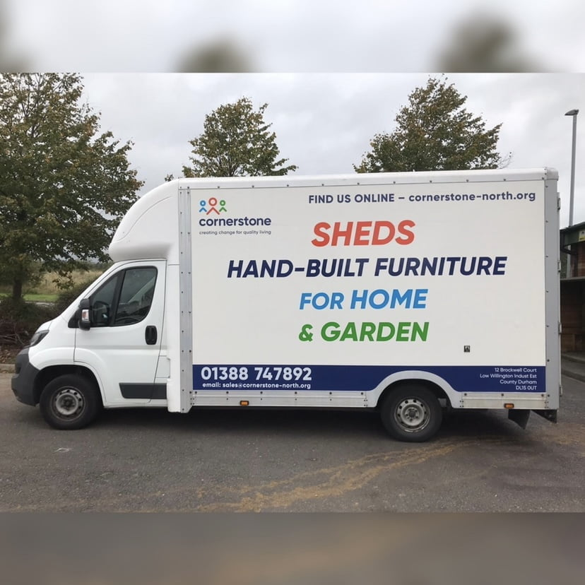 Charity hit by £1500 repair bill after van part thefts affect shed delivery schedules